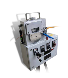 Cable blowing machine electric