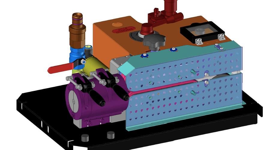 Mini-FOK Cable Blowing Machine
