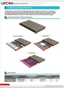 Modular High Density MTP to LC Conversion Cassettes