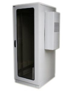 Server rack cabinet 42U with 2KW air conditioning